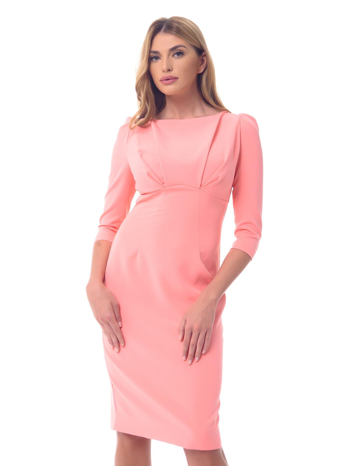 Платье коралловое | 4697196