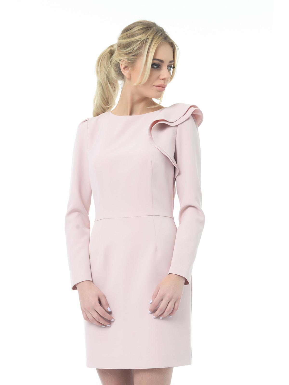 Платье бежево-розовое | 4697200