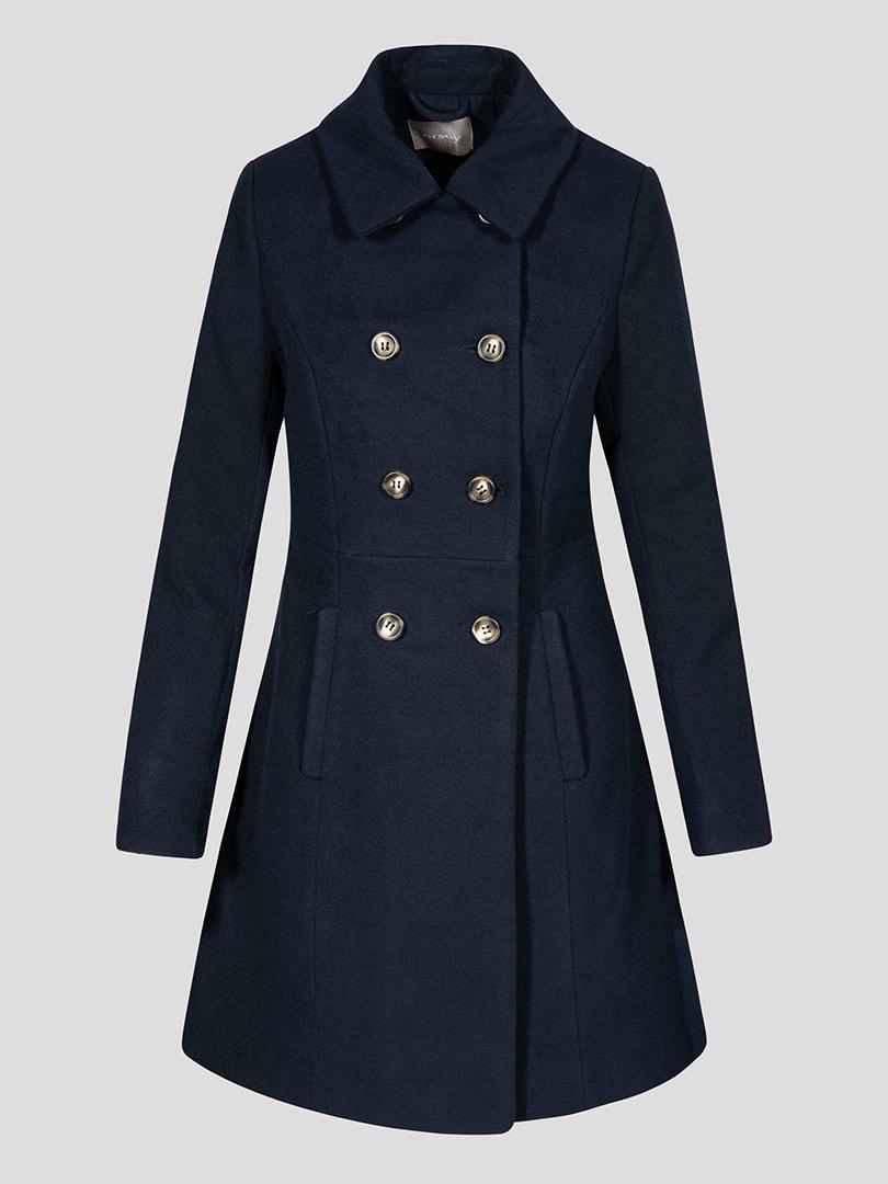 Пальто синє | 4677712 | фото 8