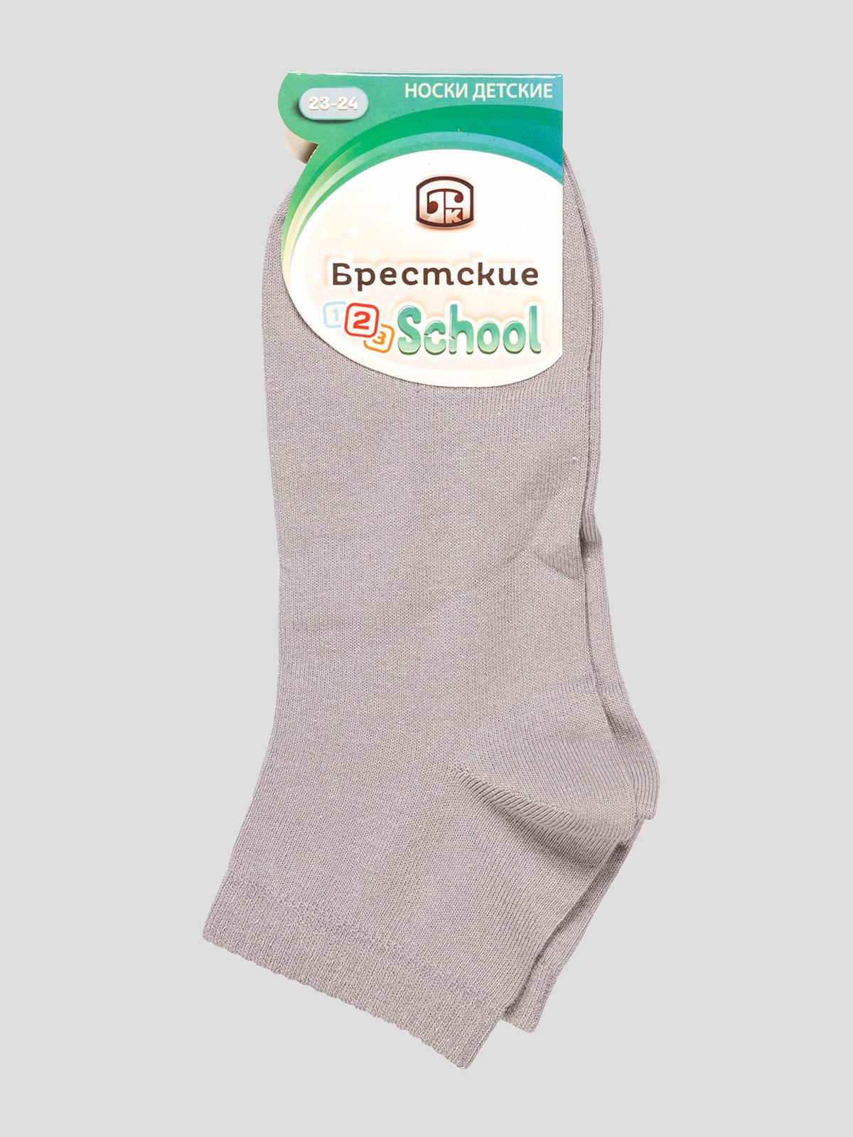 Носки серые | 4663721