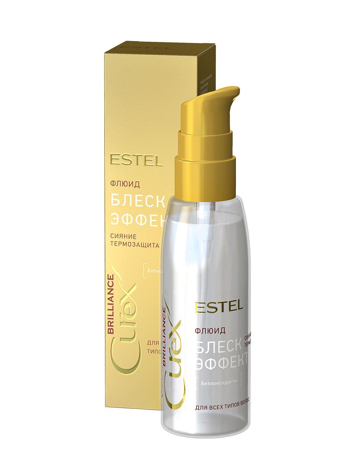 Флюид-блеск с термозащитой для всех типов волос Curex Brilliance (100 мл) | 4693431