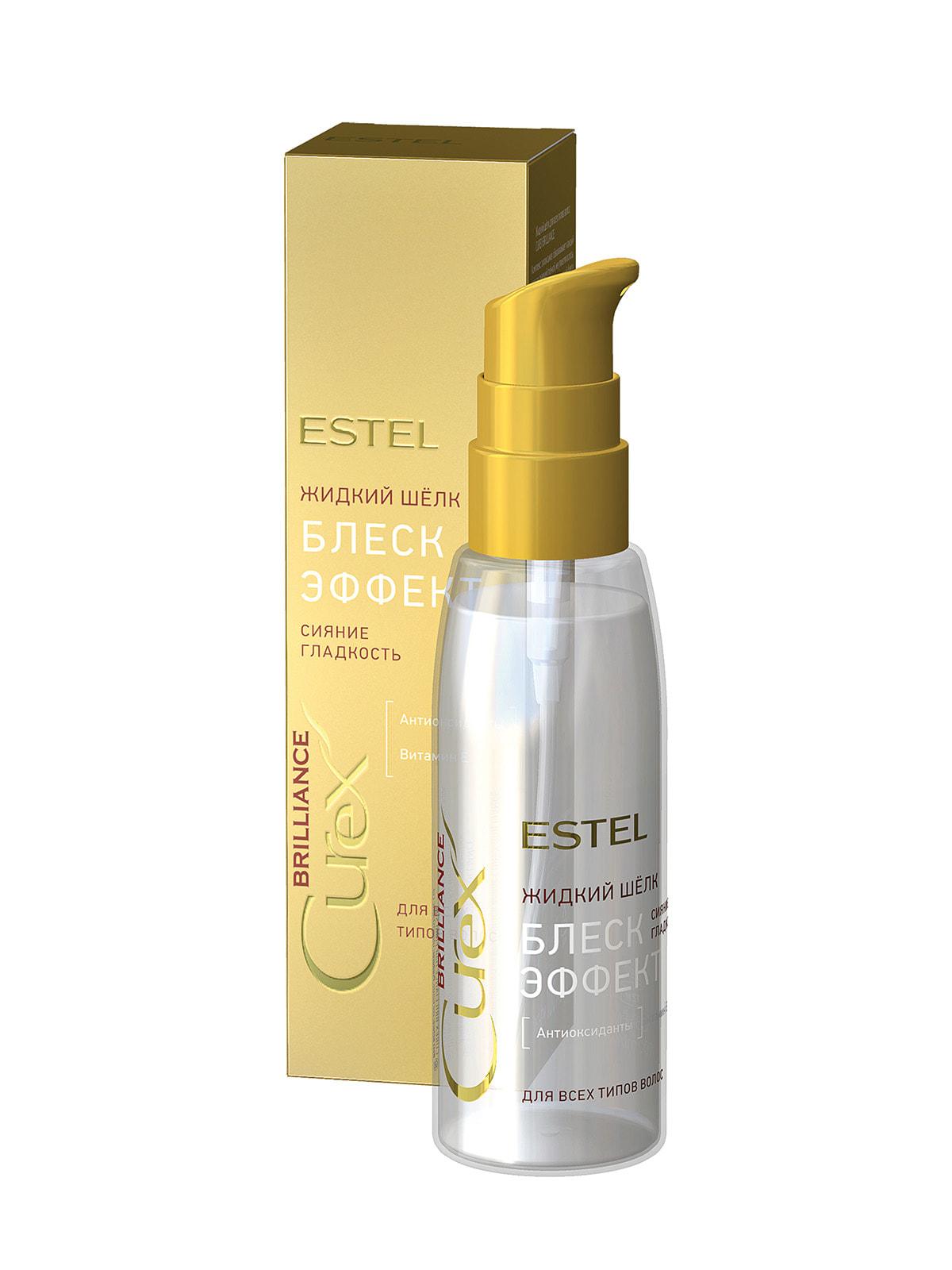 Жидкий шелк для всех типов волос Curex Brilliance (100 мл)   4693432