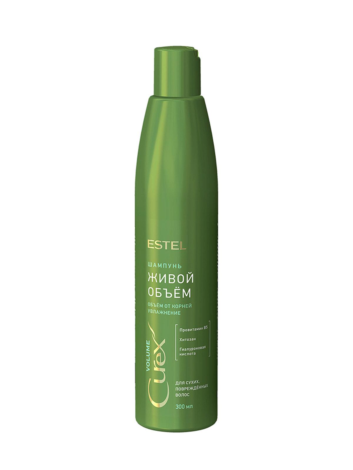Шампунь Curex для придания объема сухим и поврежденным волосам (300 мл) | 4693440