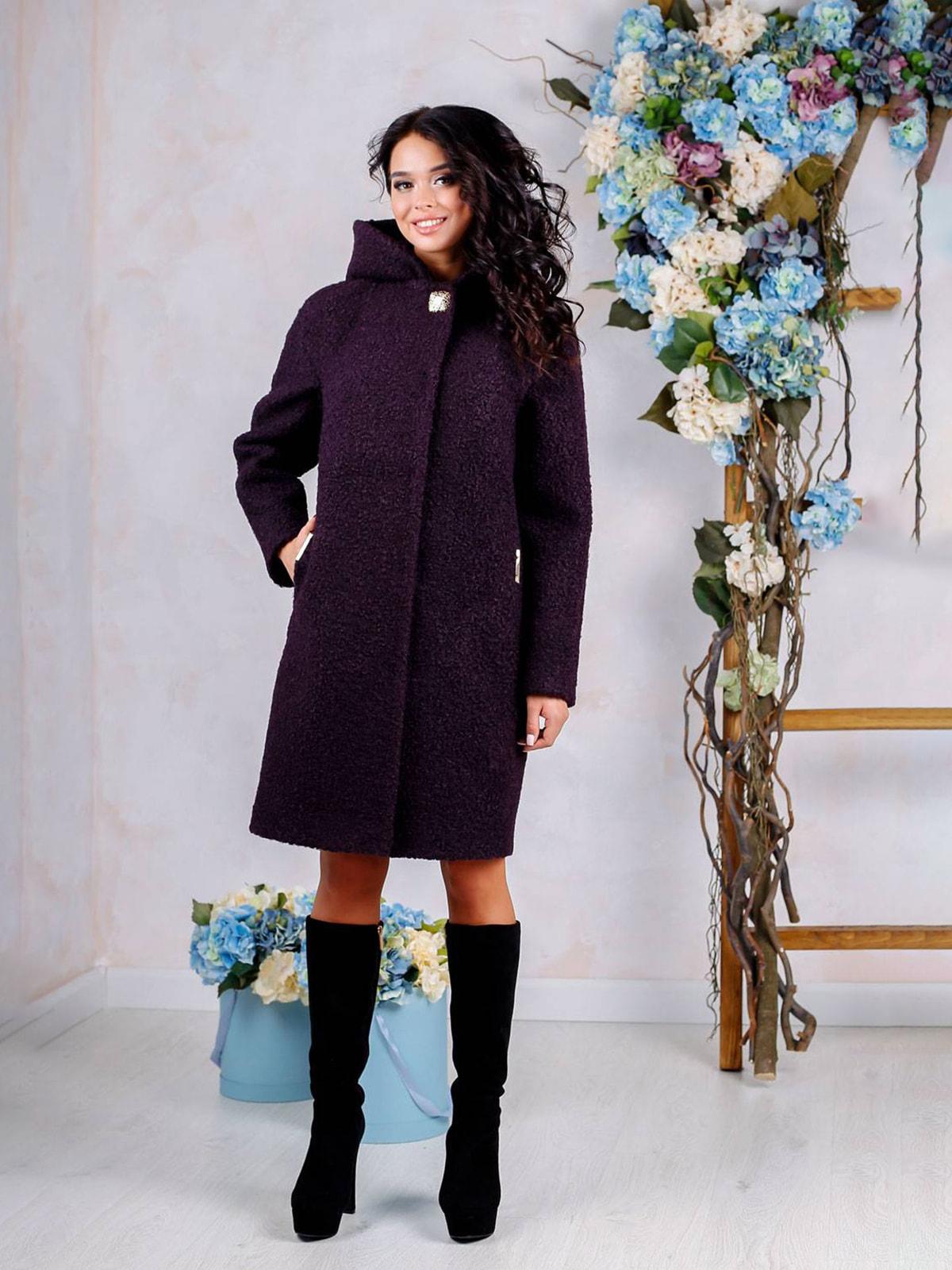 Пальто фіолетове | 4655243