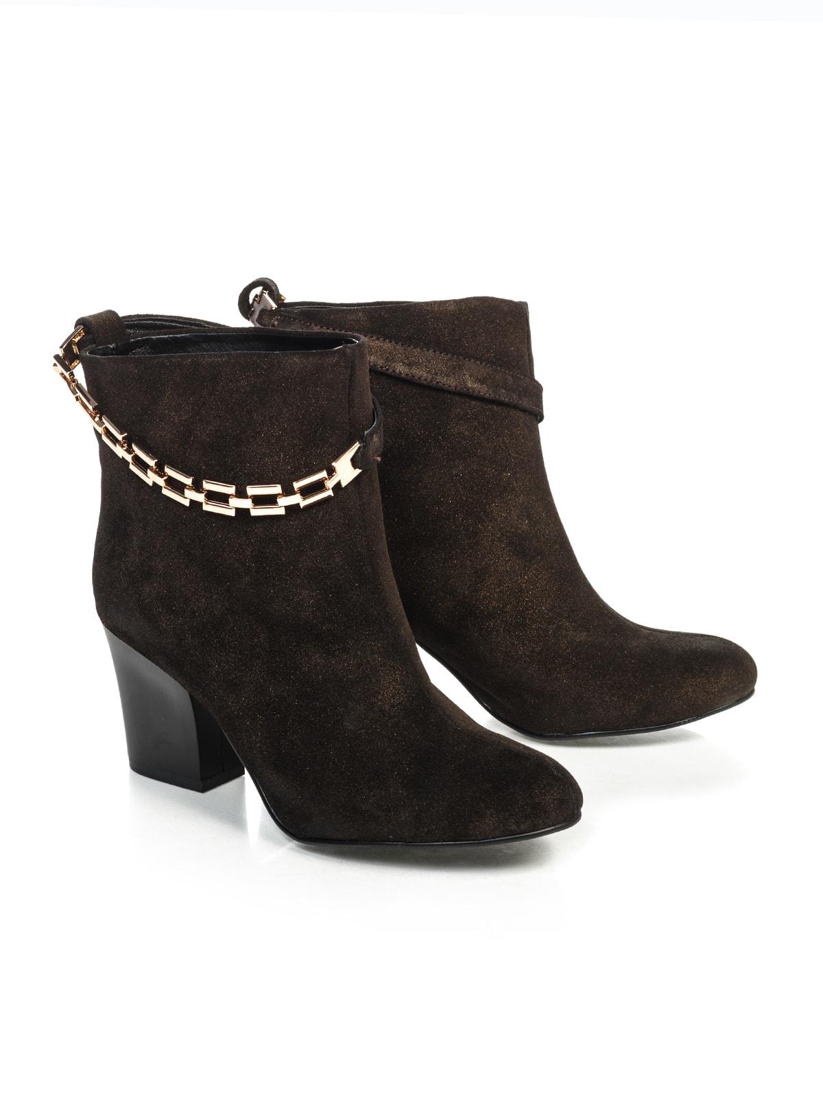 Ботинки коричневые | 4683563 | фото 2