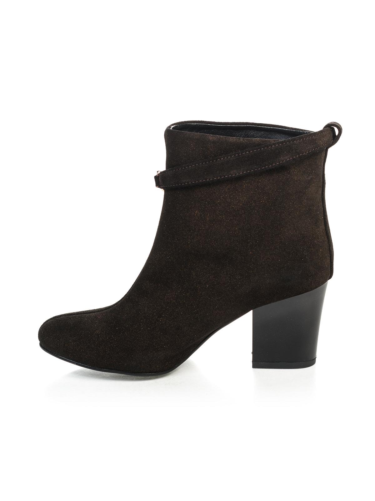 Ботинки коричневые | 4683563 | фото 4