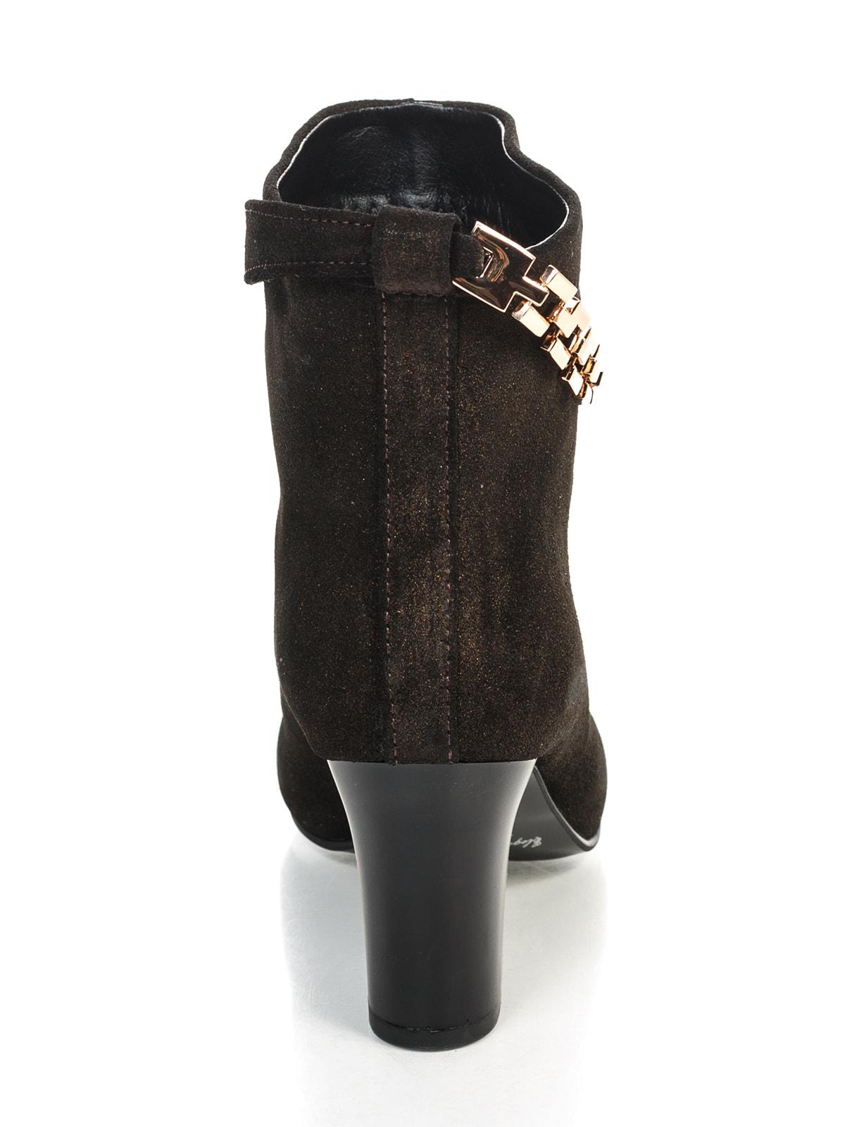 Ботинки коричневые | 4683563 | фото 5
