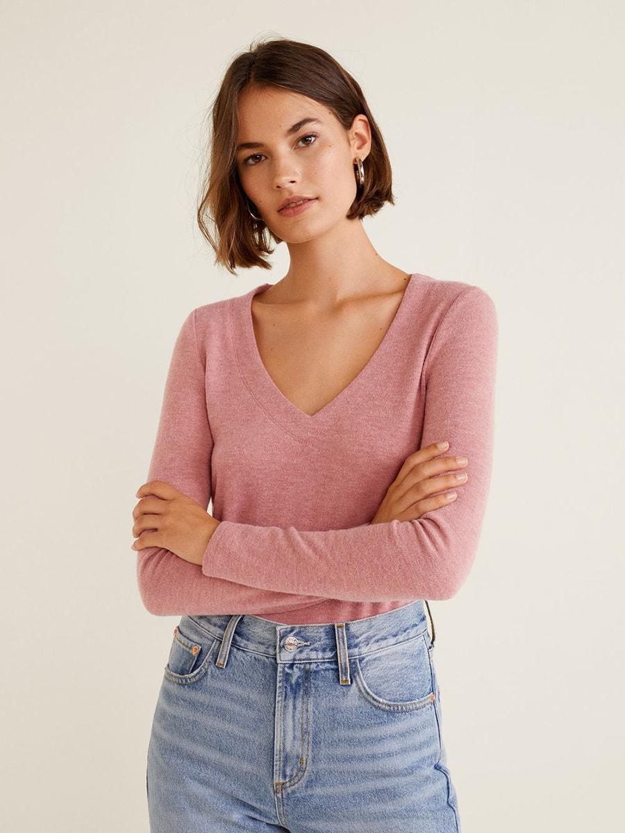 Пуловер рожевий   4649804