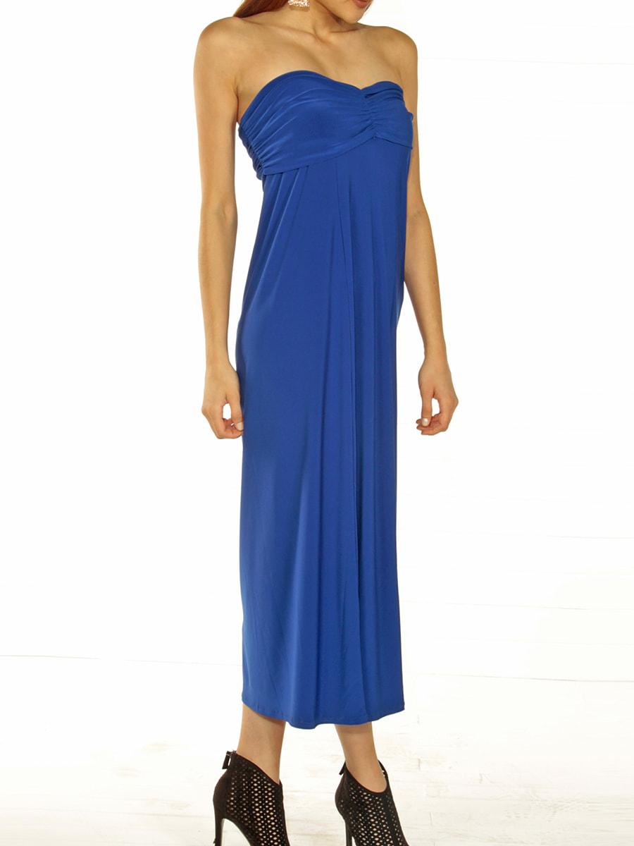 Сукня кольору електрик | 4703061