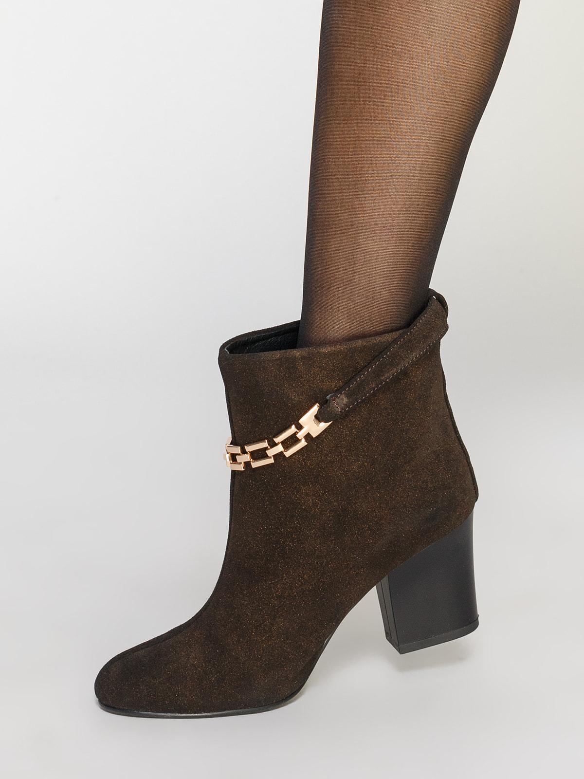 Ботинки коричневые | 4683563 | фото 7