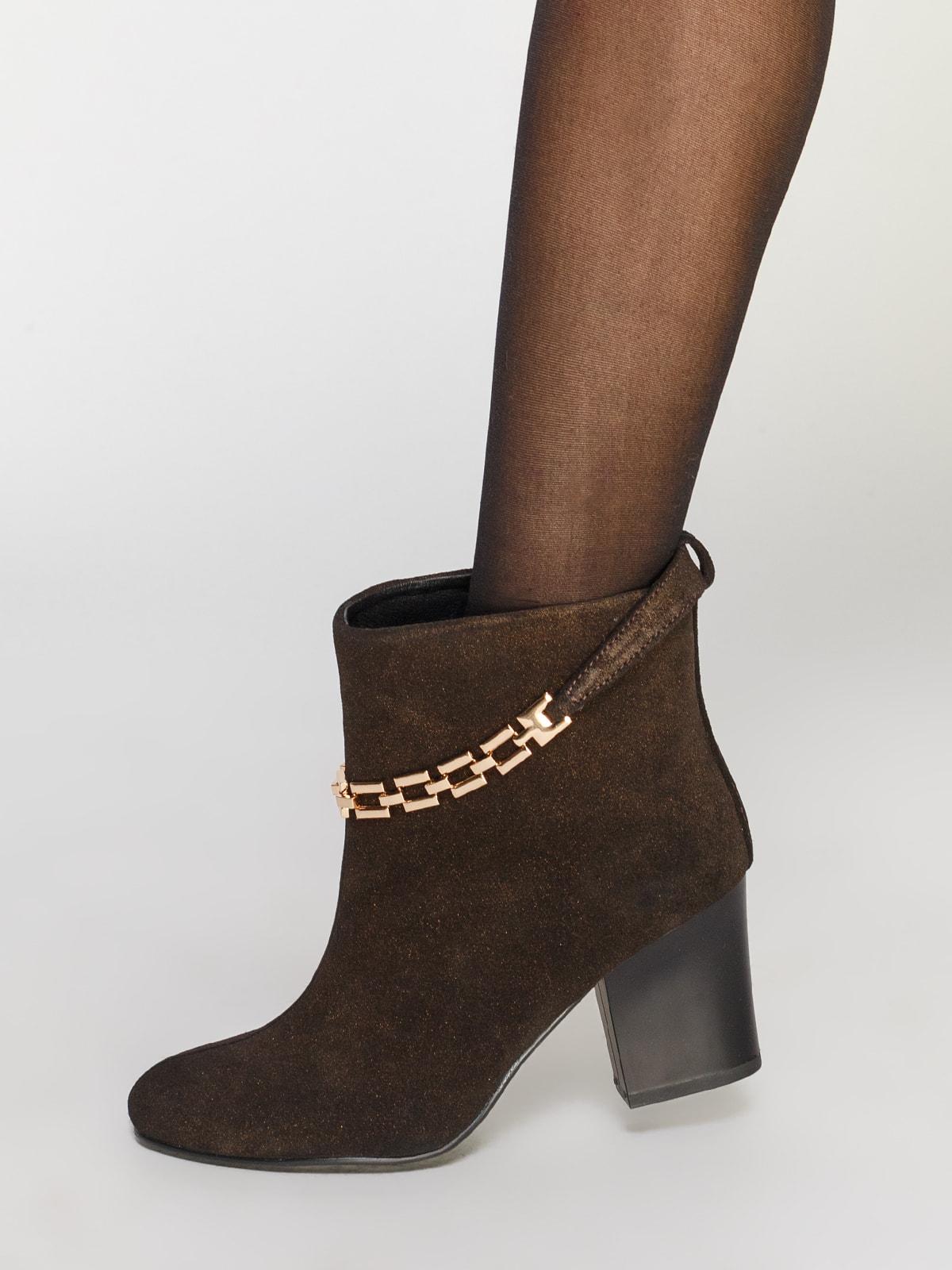 Ботинки коричневые | 4683563 | фото 8