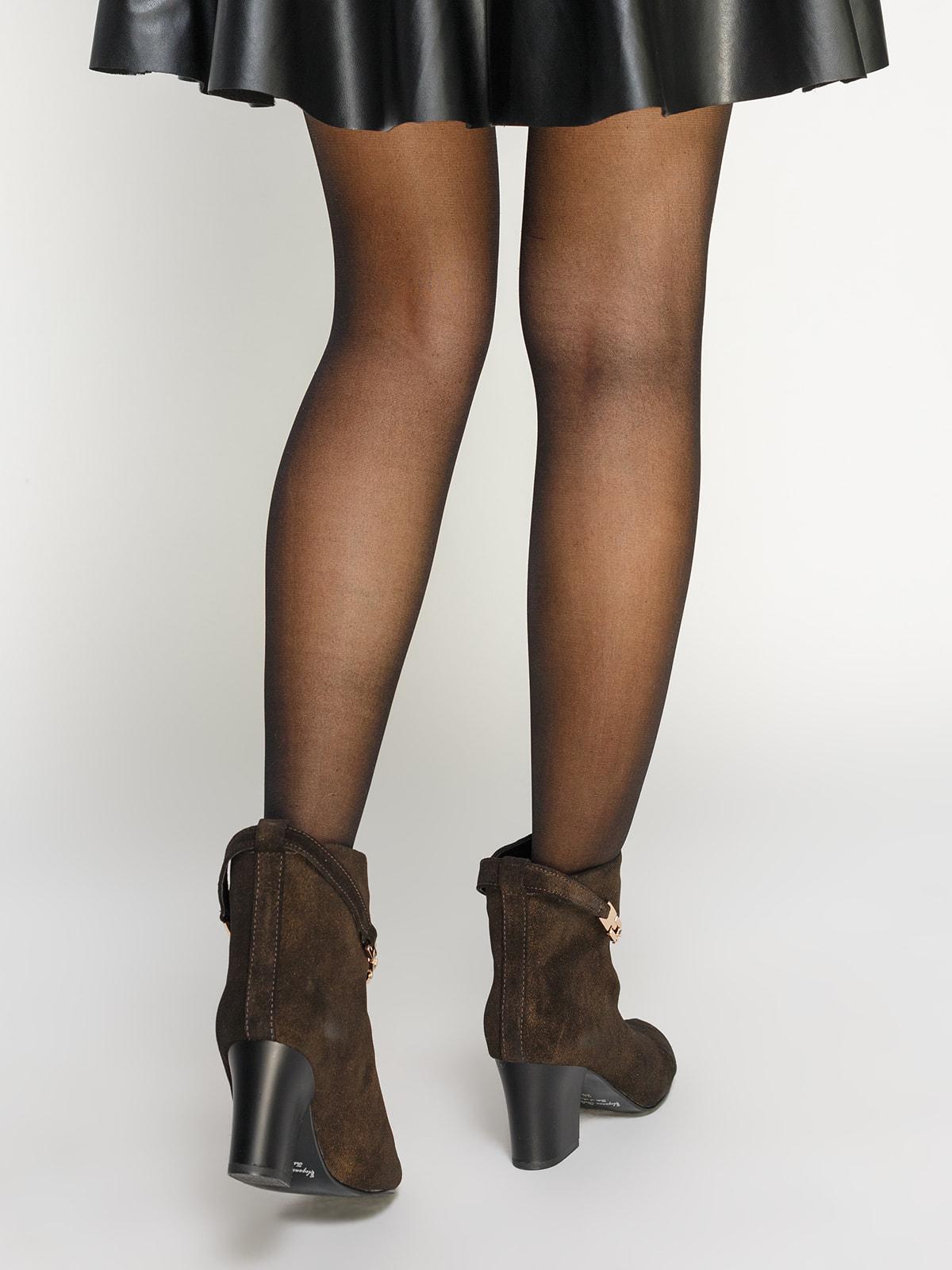 Ботинки коричневые | 4683563 | фото 9