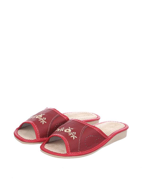 Тапочки красные | 4705592