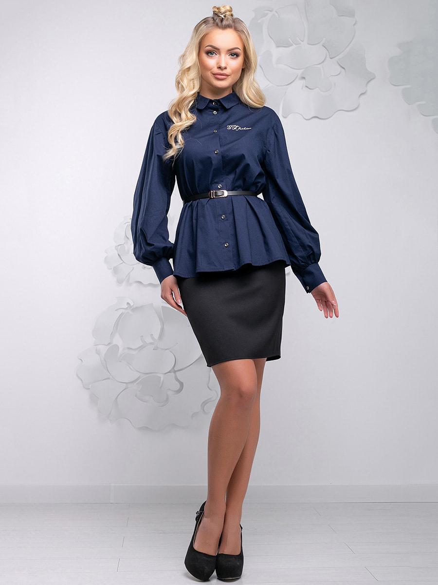 Блуза синя | 4621710 | фото 3