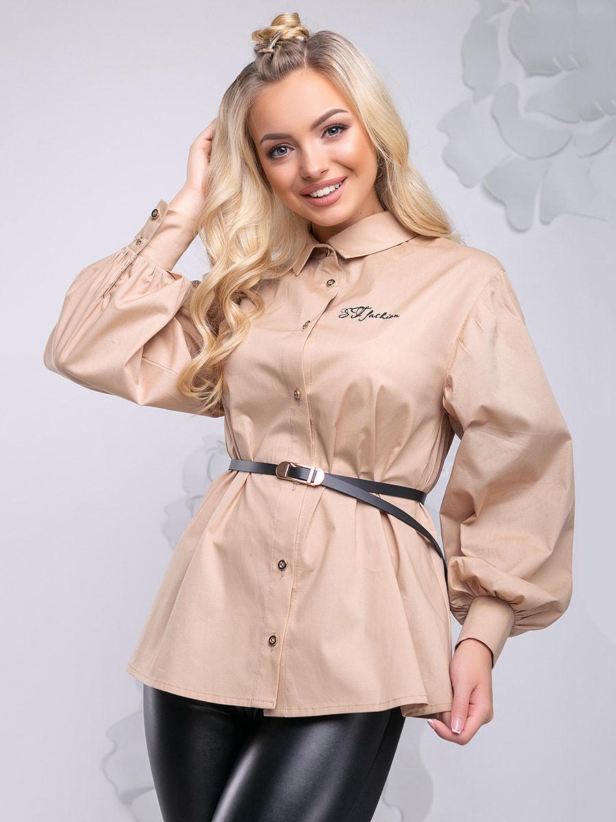 Блуза бежева | 4621711 | фото 6
