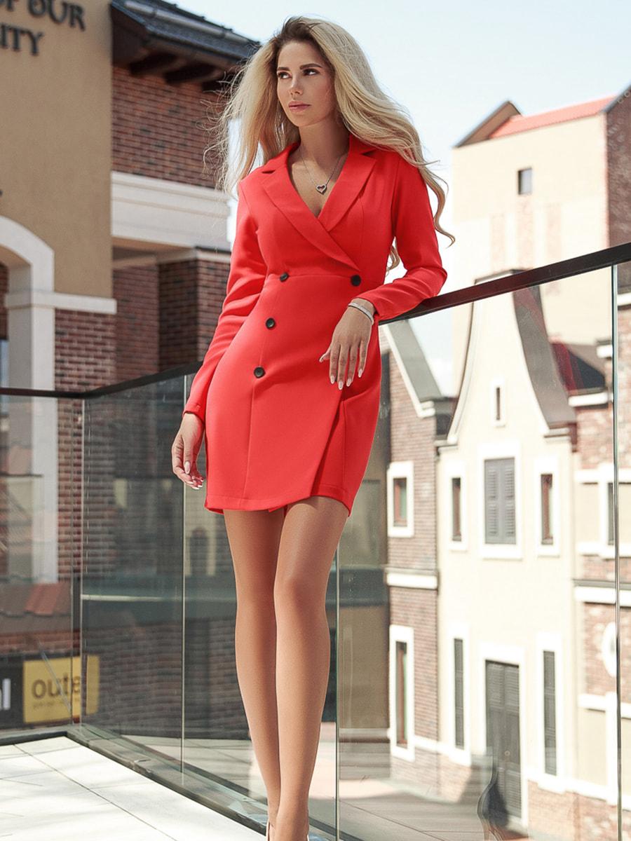 Платье красное   4603256
