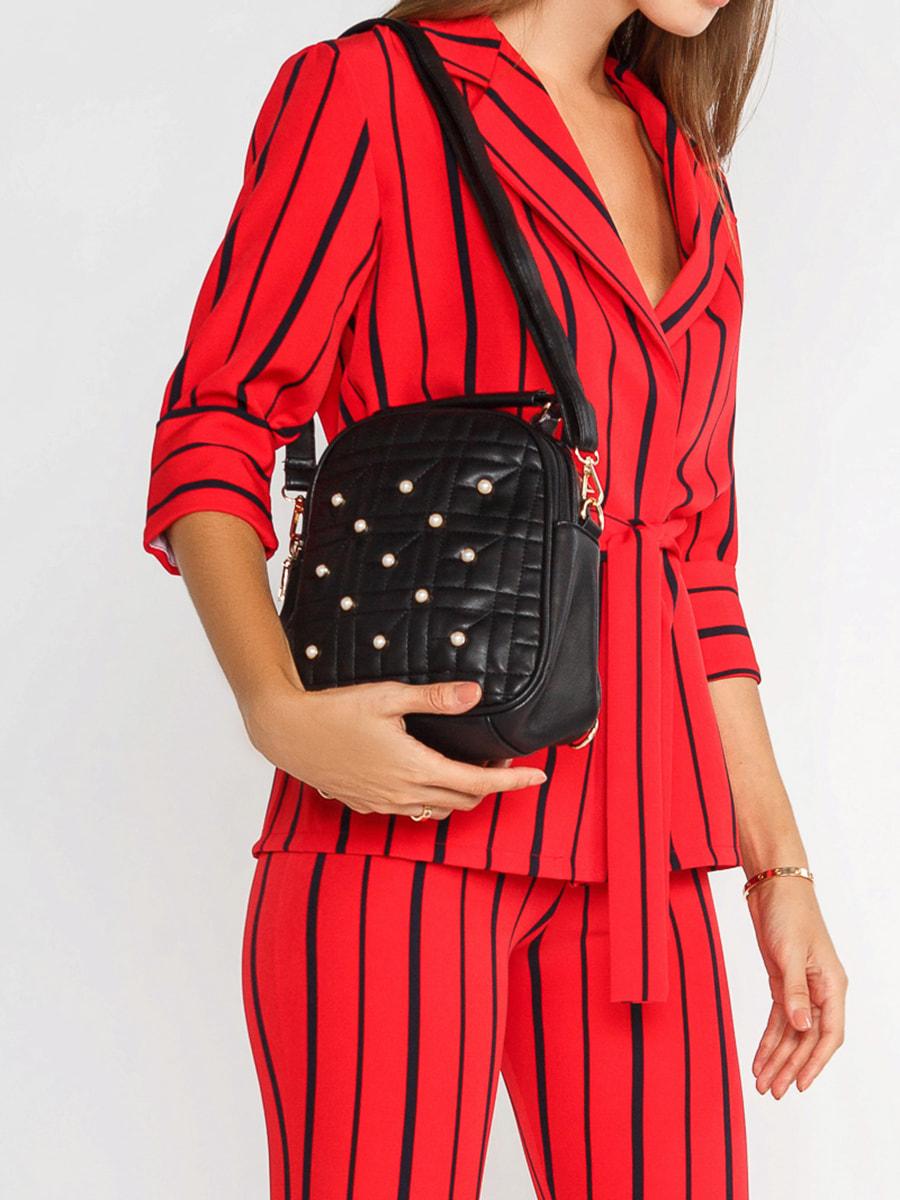 Рюкзак-сумка черный | 4616606