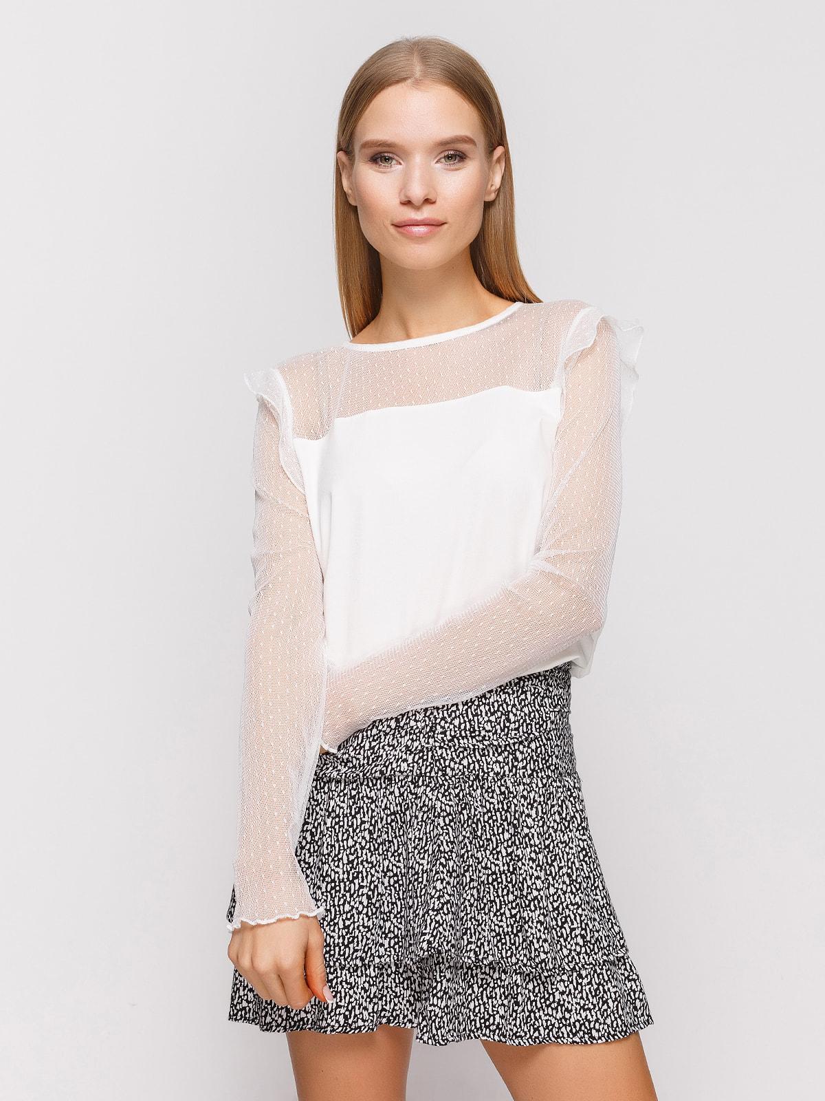 Блуза белая | 4548442