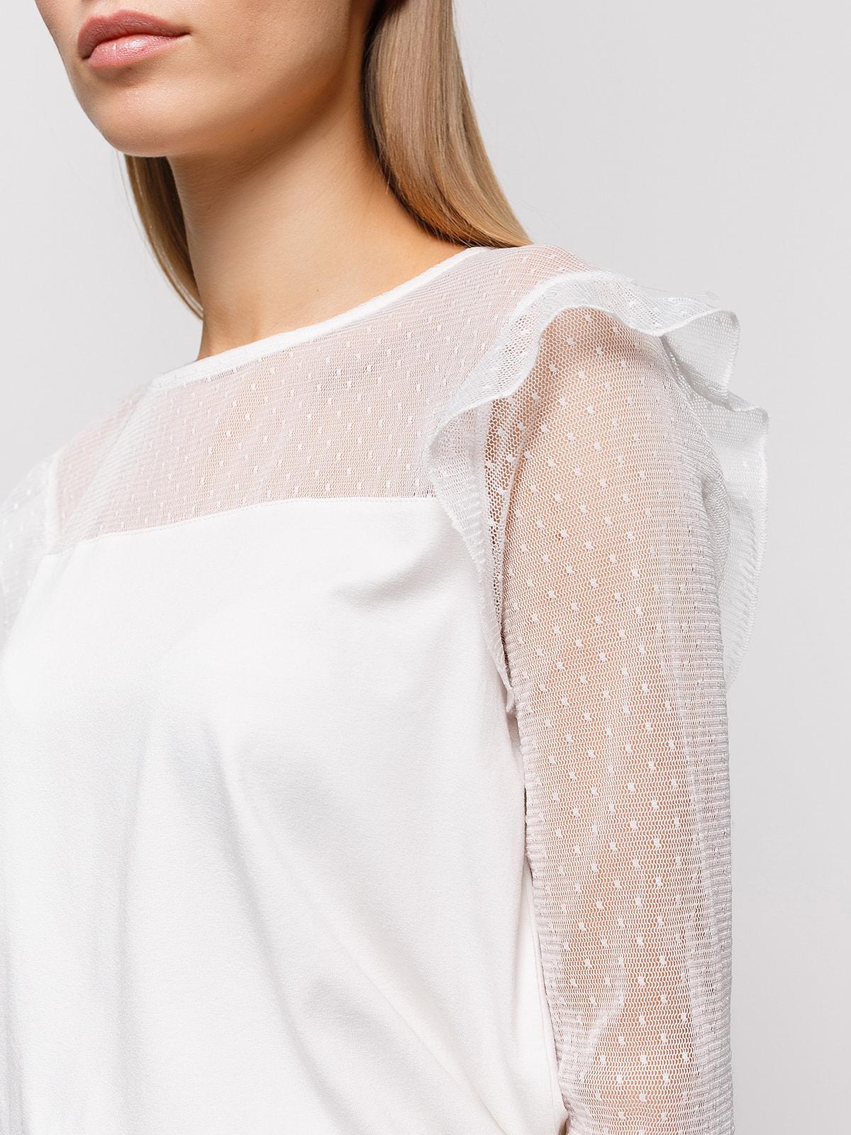 Блуза белая | 4548442 | фото 3