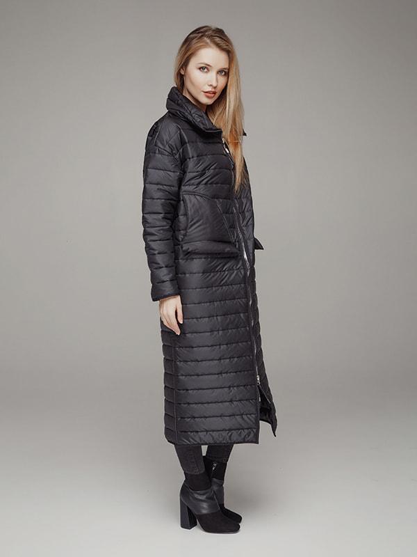 Пальто чорне   4705082   фото 2
