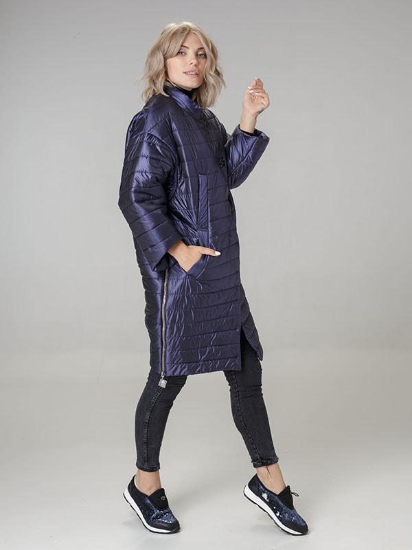 Пальто фиолетовое   4705161   фото 2