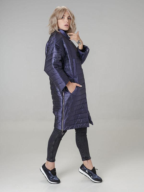 Пальто фиолетовое   4705161   фото 3