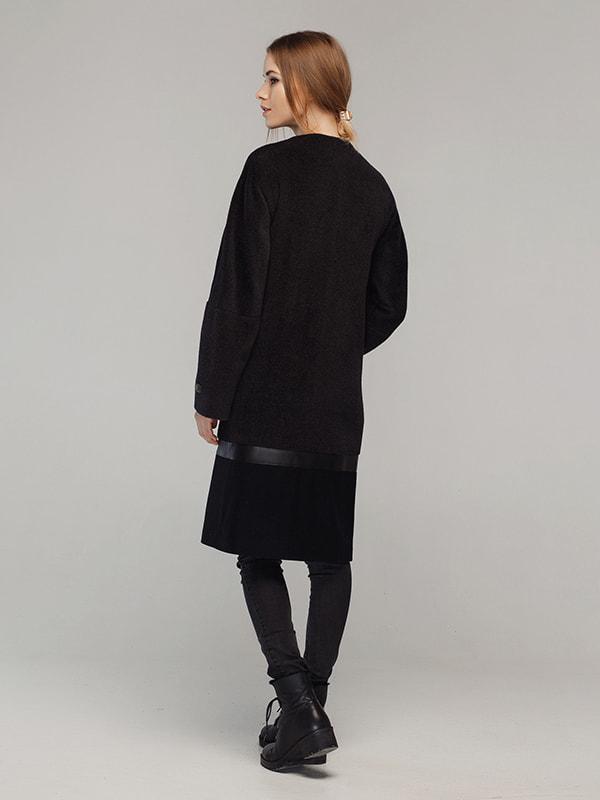 Пальто чорне | 4705209 | фото 4