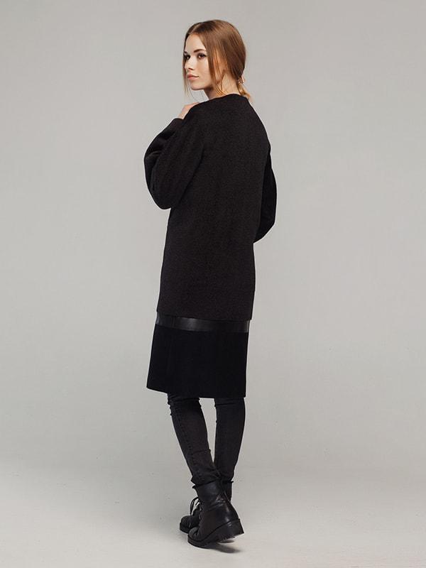Пальто чорне | 4705209 | фото 5