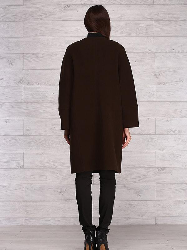 Пальто коричневое   4705241   фото 2