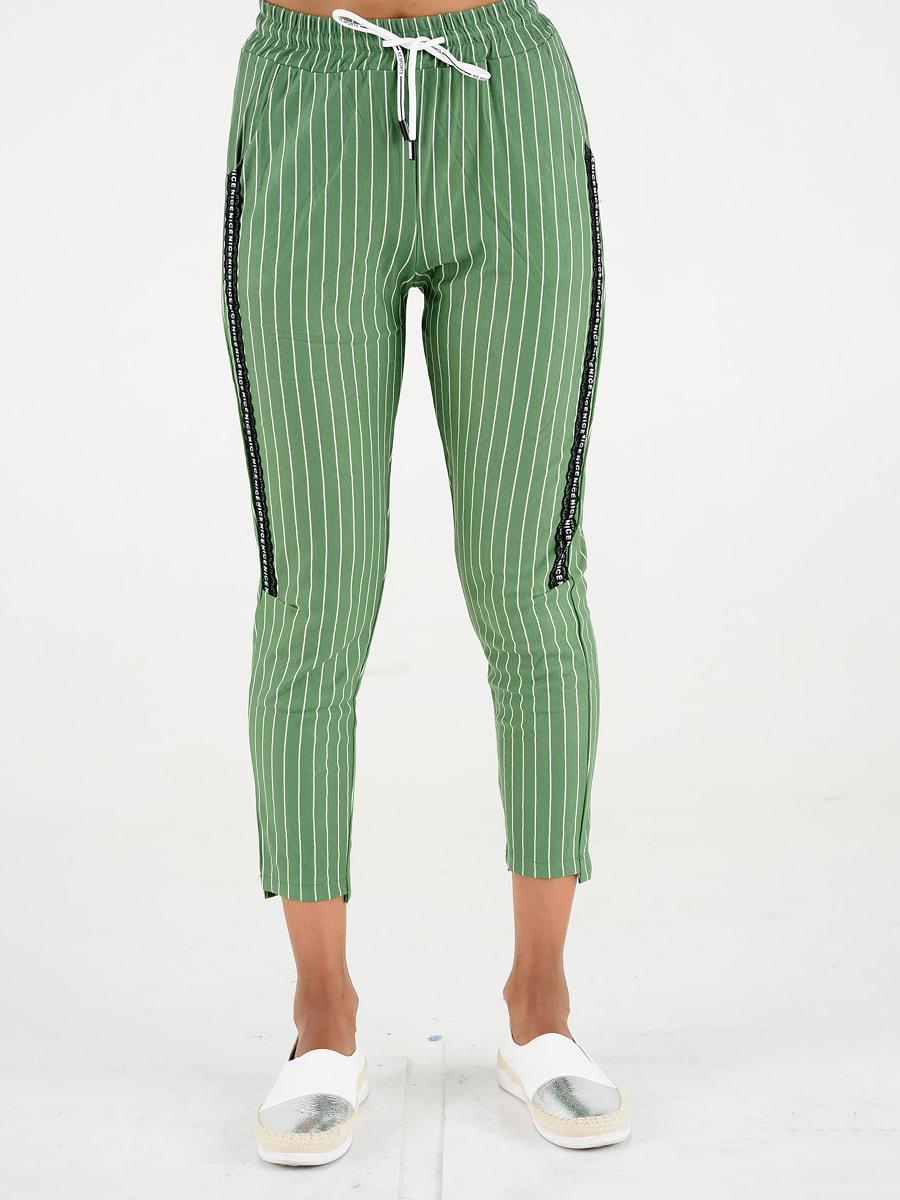Брюки зеленые | 4581137