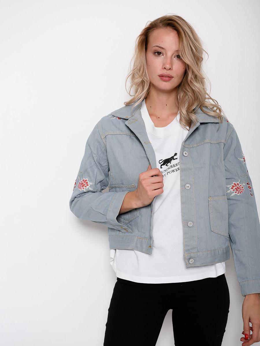 Куртка голубая | 4621105