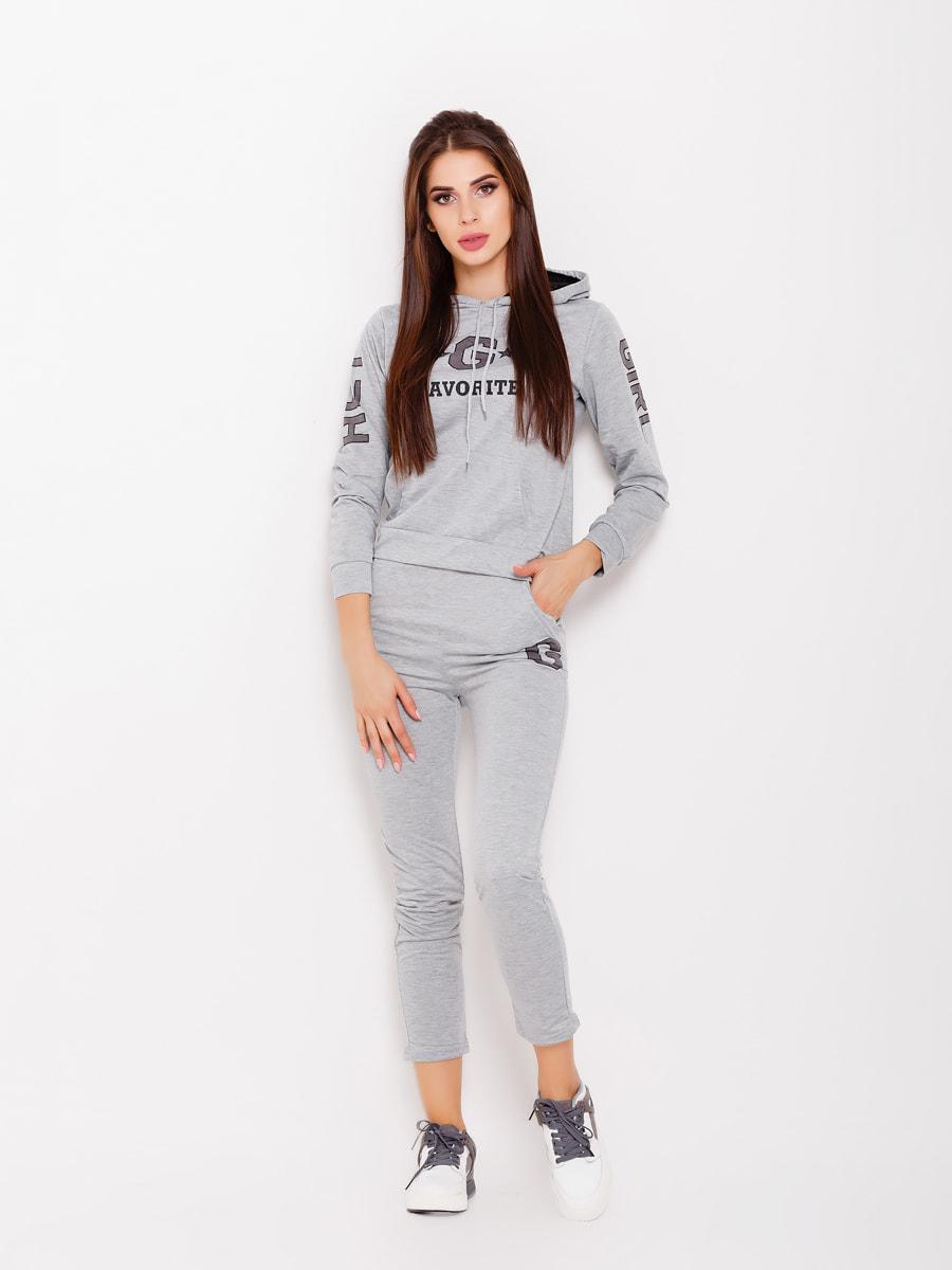 Костюм спортивний: худі та штани | 4693080
