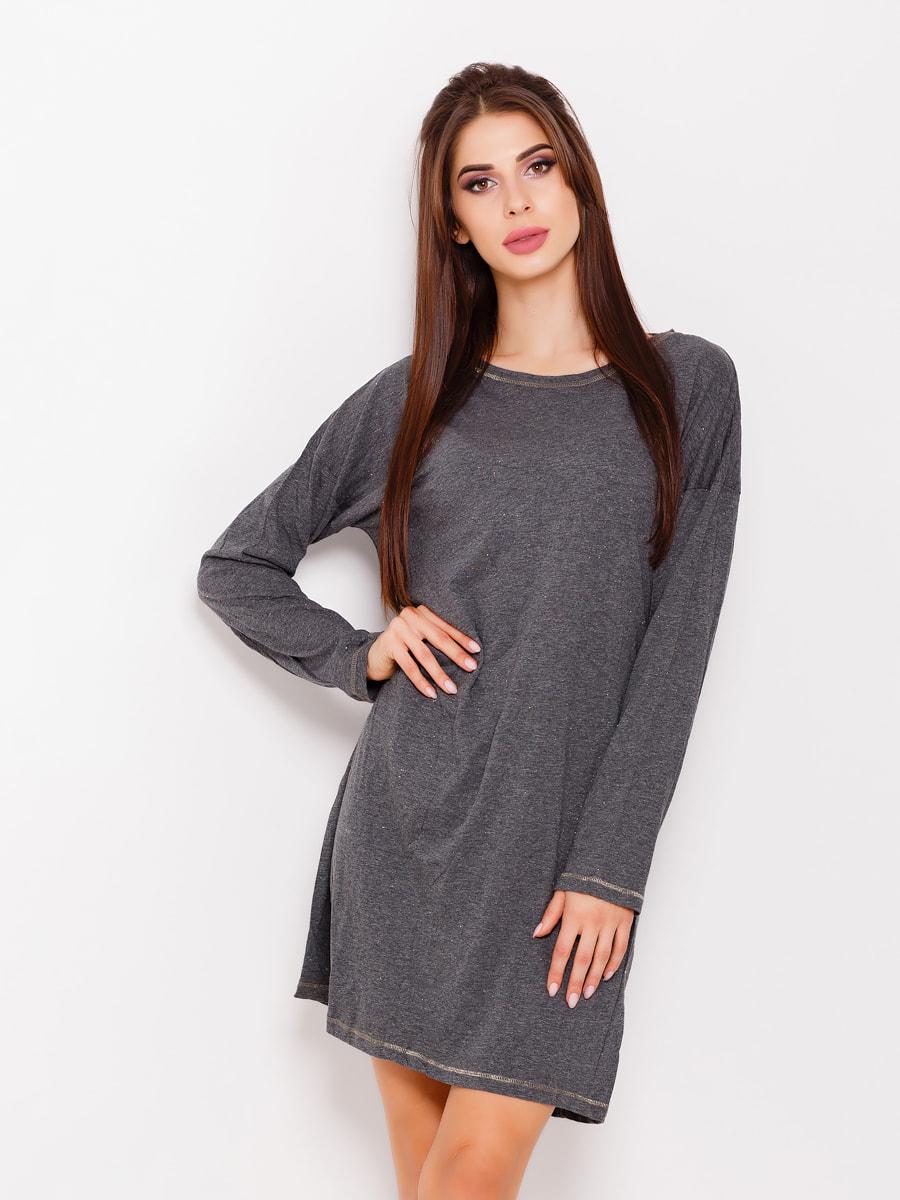 Платье серое   4693090