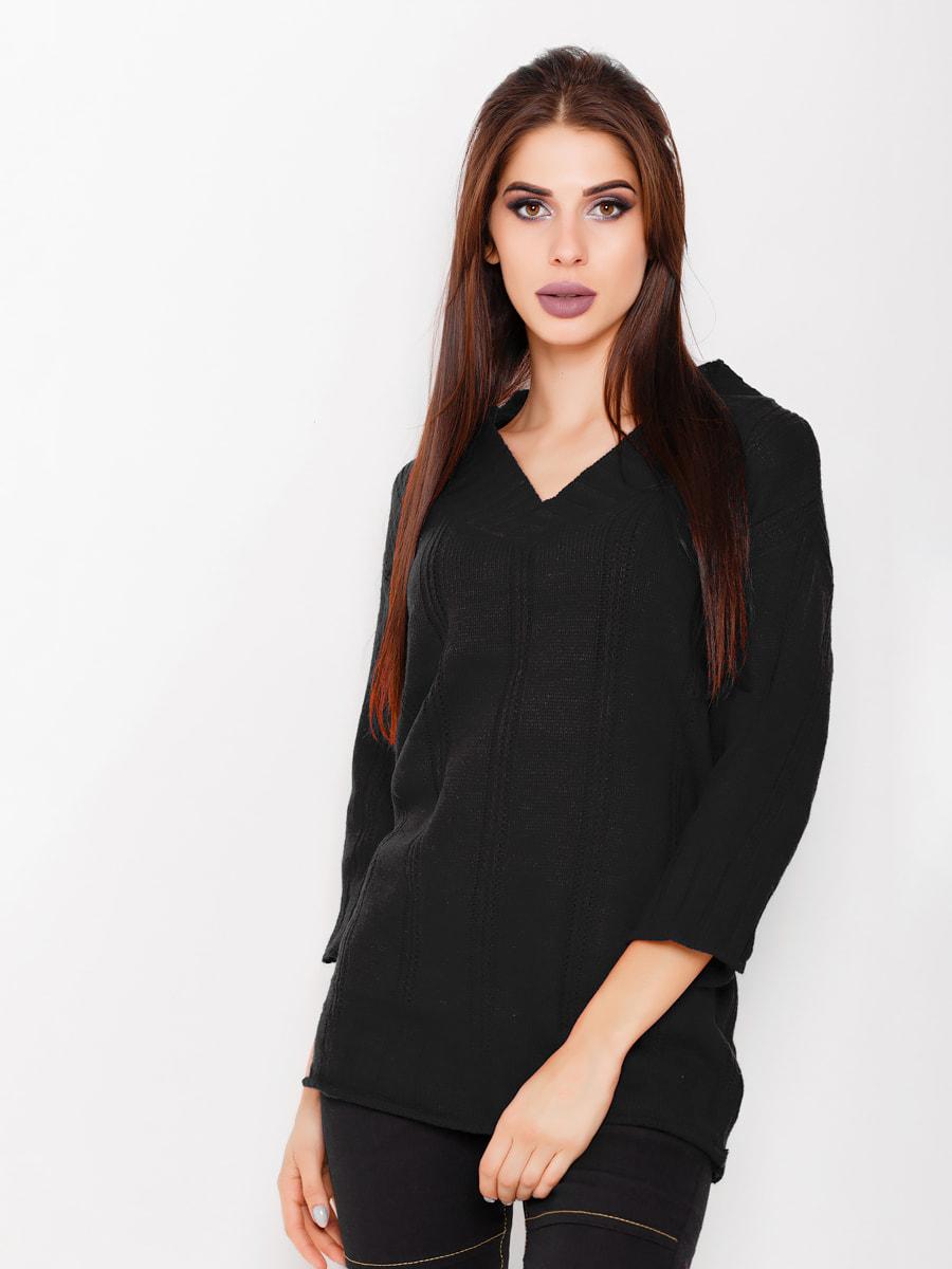 Пуловер черный | 4693157