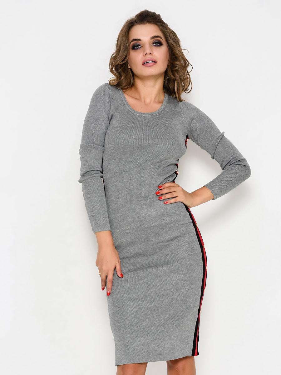 Платье серое | 4707710