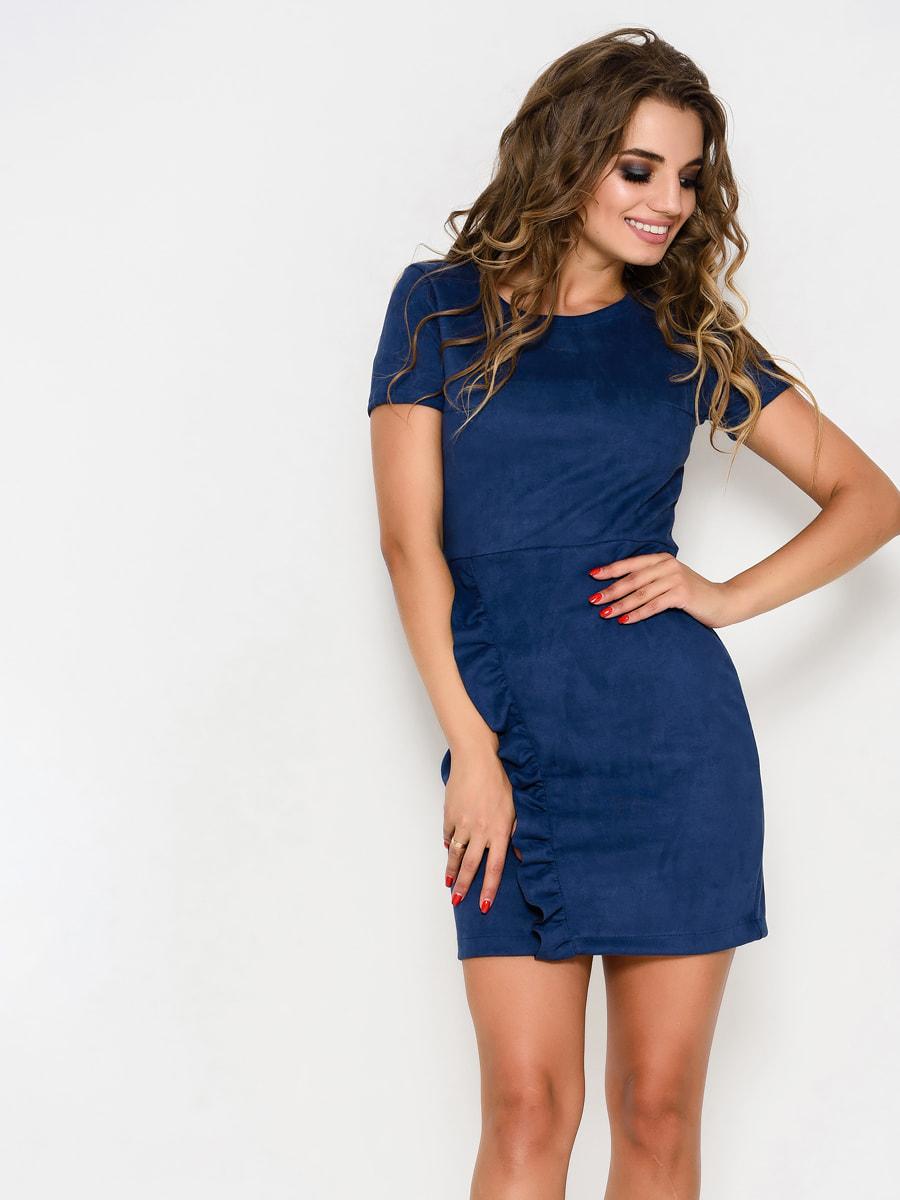 Платье синее | 4707725