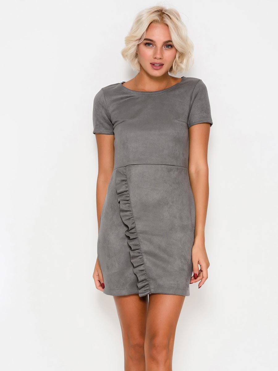 Платье серое | 4707726