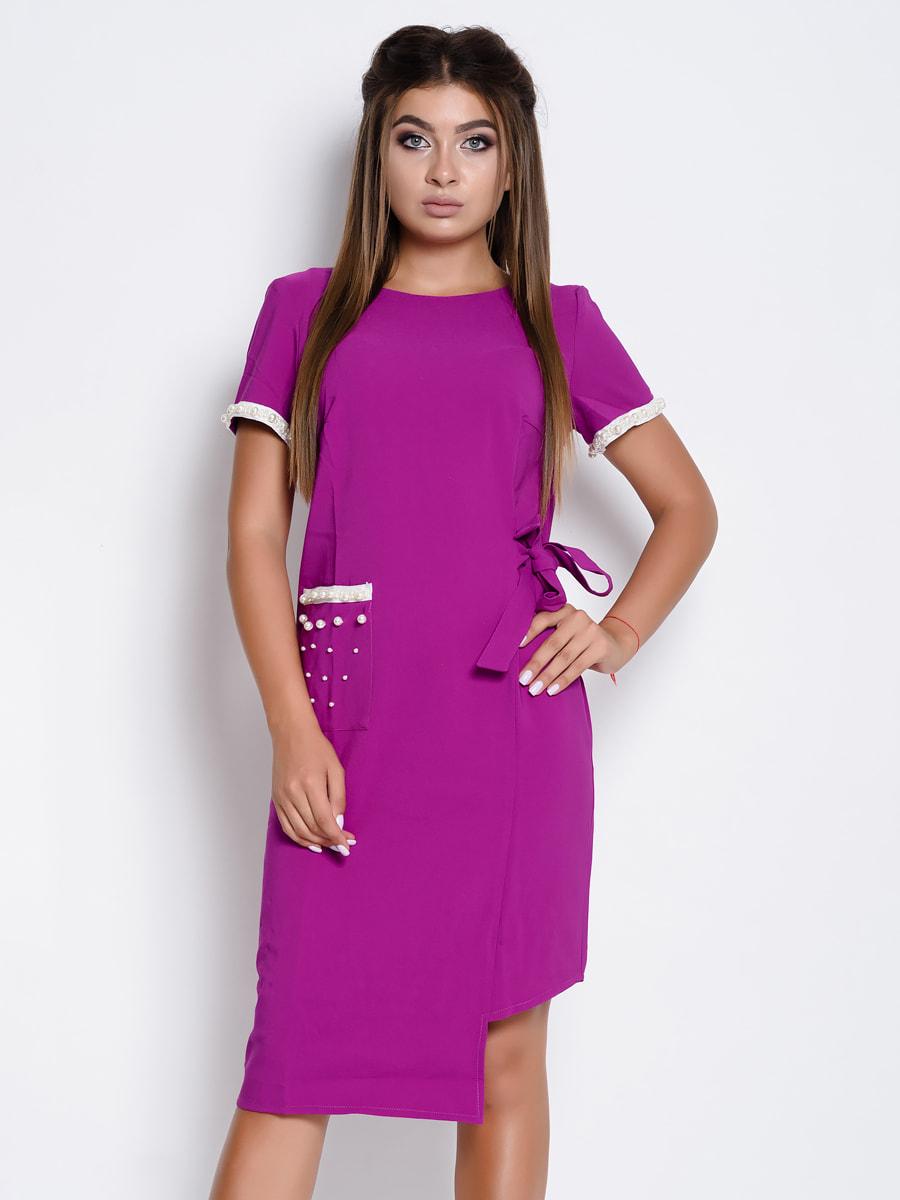 Платье фиолетовое | 4707760