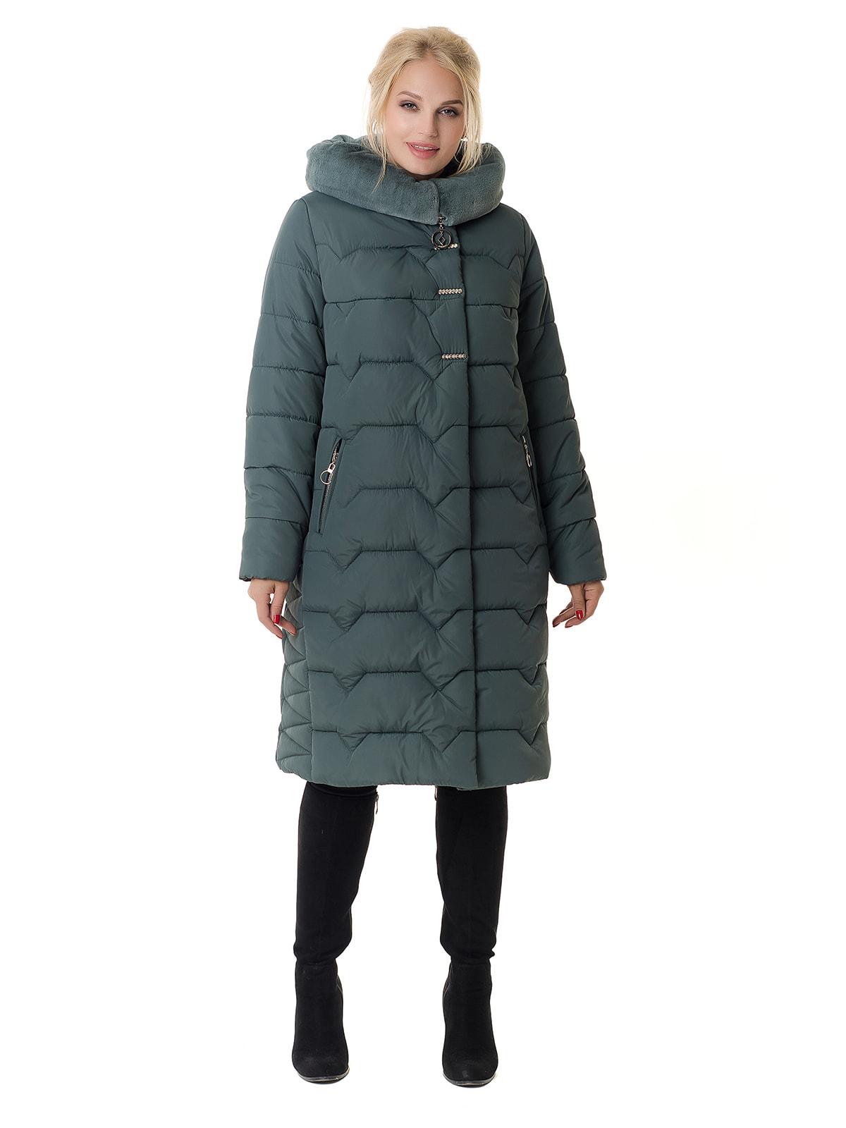 Пальто оливкового цвета | 4709194