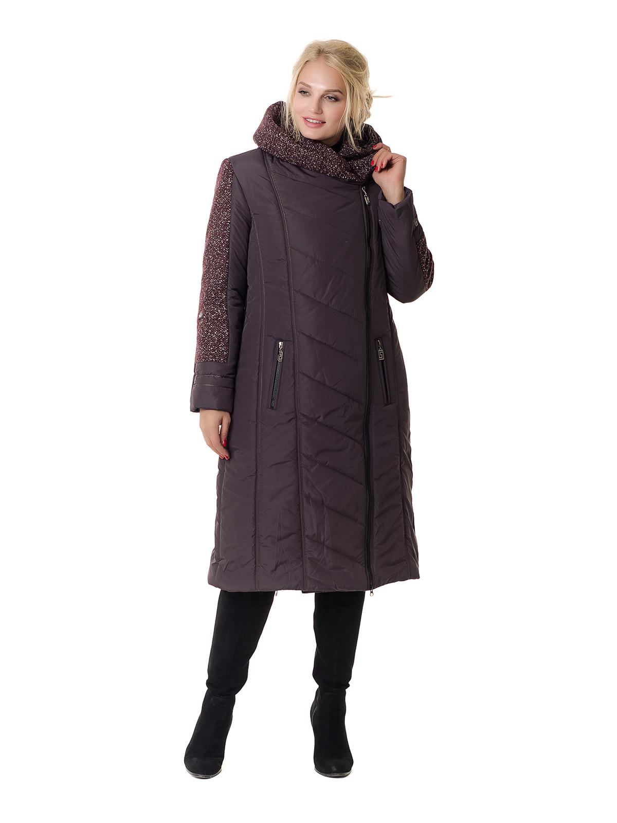 Пальто бордовое | 4709198 | фото 2