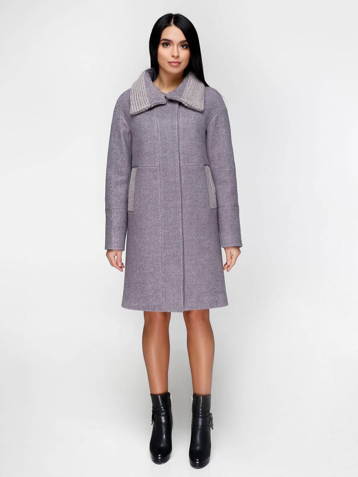 Пальто серое | 4711626