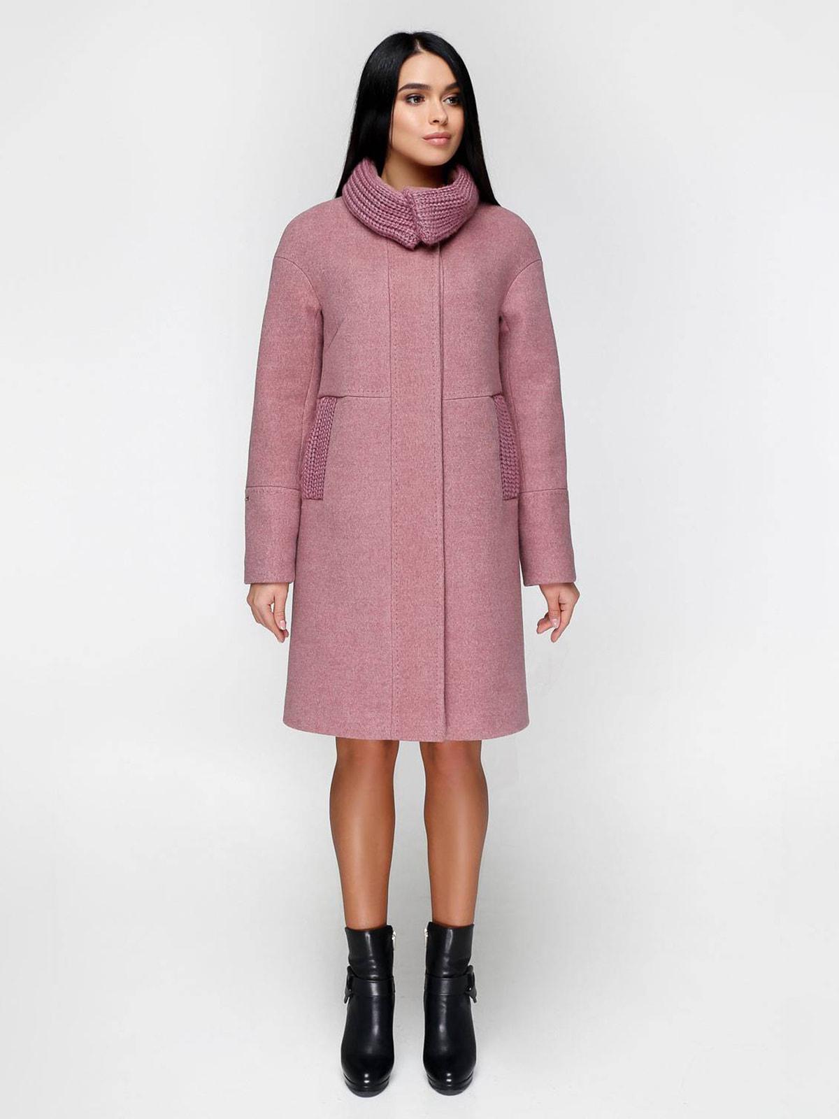 Пальто розовое | 4711636