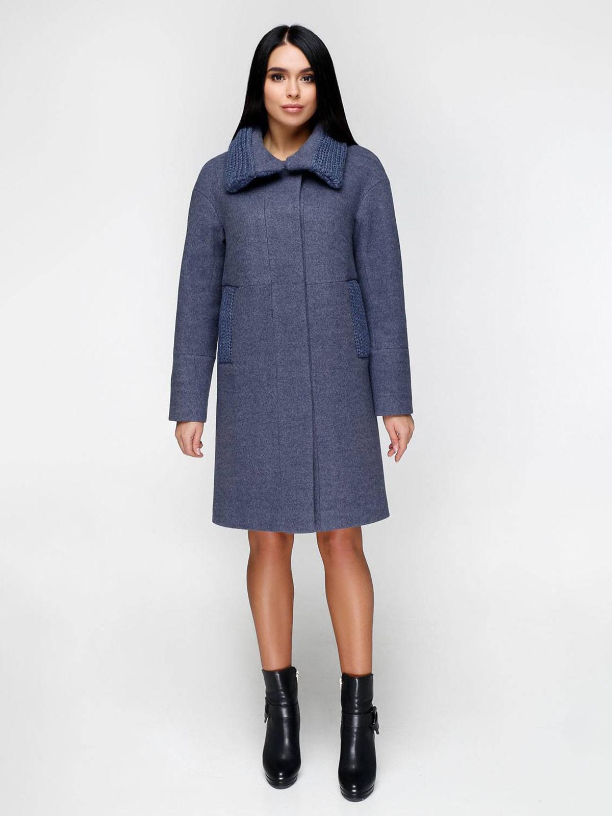 Пальто сіро-блакитне | 4711639