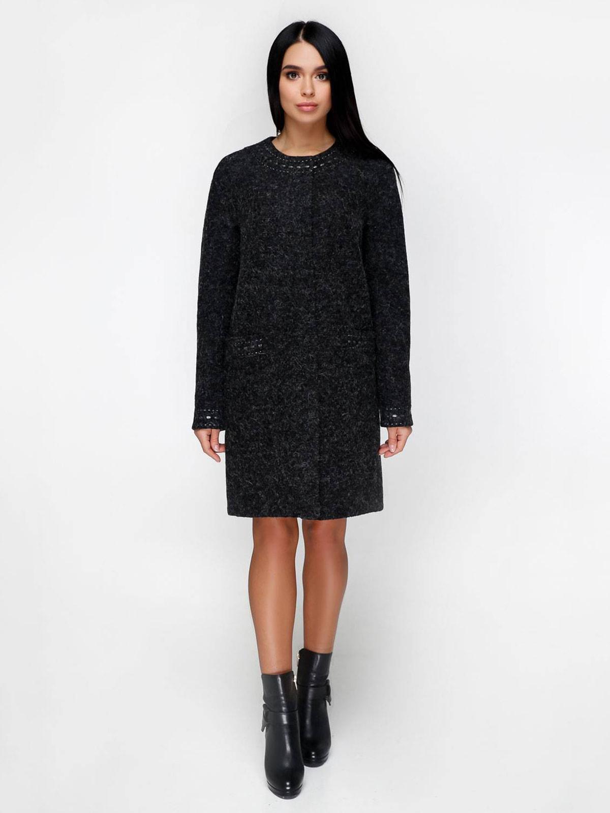 Пальто чорне | 4711641