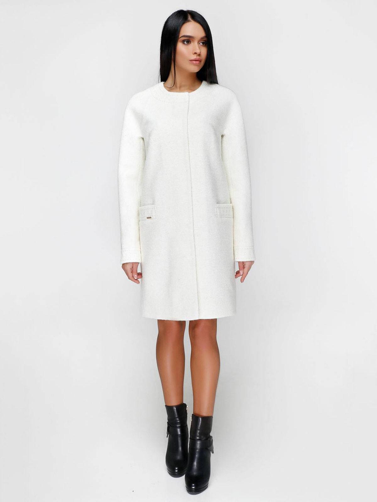 Пальто біле | 4711642