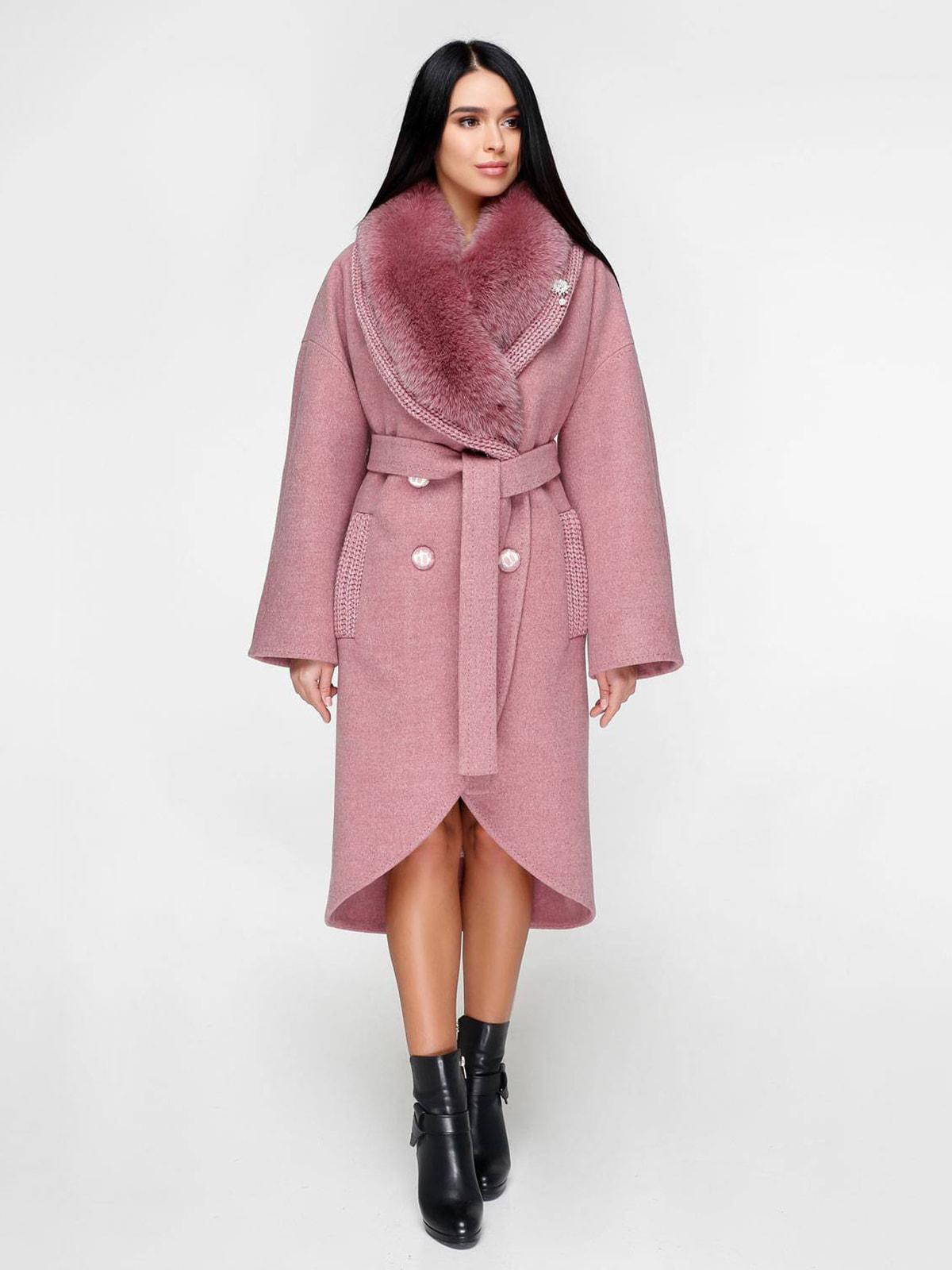 Пальто рожеве | 4711659
