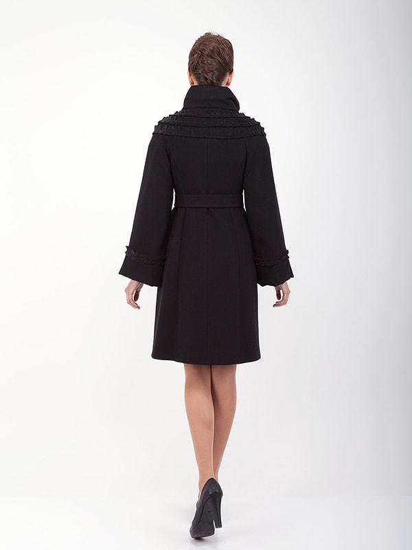 Пальто черное | 4689724 | фото 2