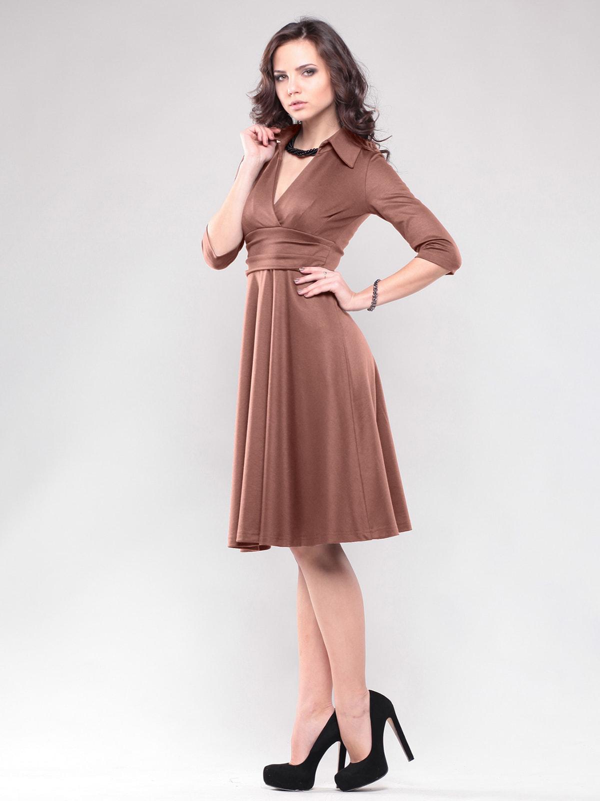 Сукня кольору мокко | 4714115