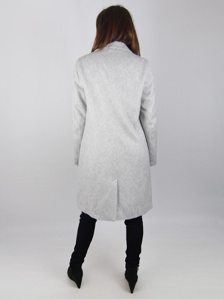 Пальто светло-серое | 4456357 | фото 2