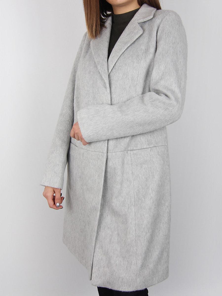 Пальто светло-серое | 4456357 | фото 3